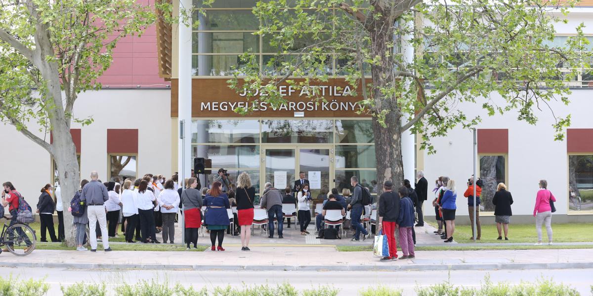 Az új könyvtár tudásközpont és közösségi tér is egyben