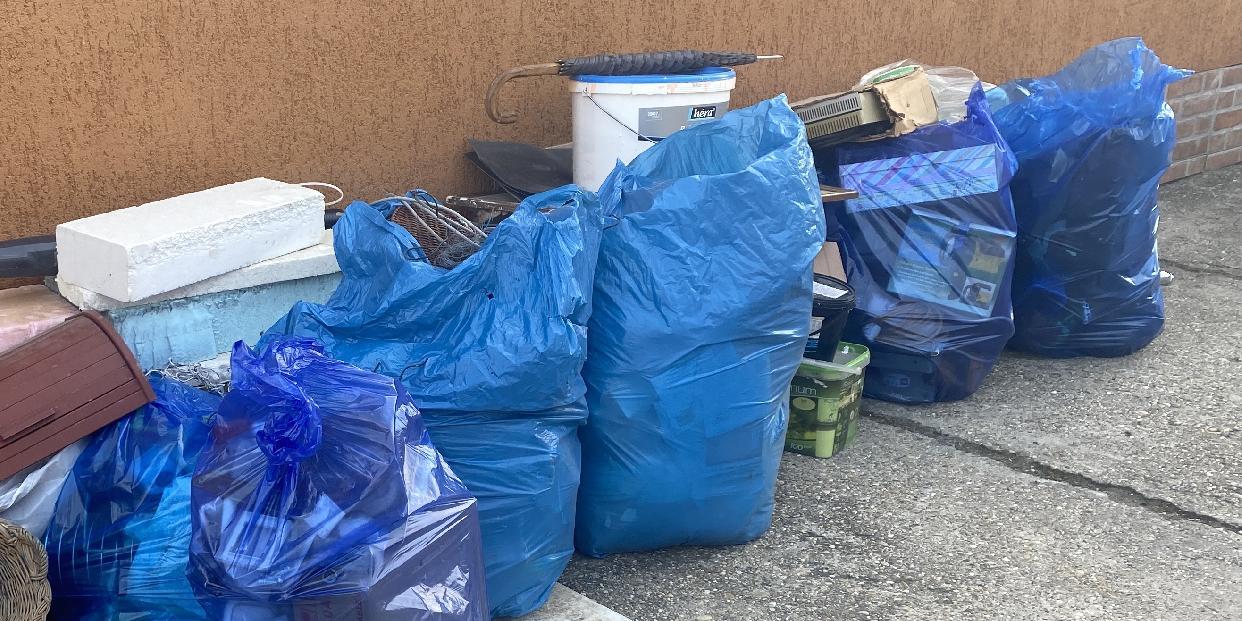 112 tonna hulladékot gyűjtött be a szolgáltató a családi házas övezetekben az őszi lomtalanítás során